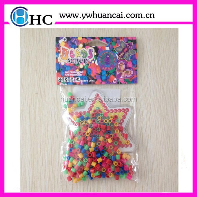 hama beads DIY for toy and jewelry hama plastic bead promotional toy