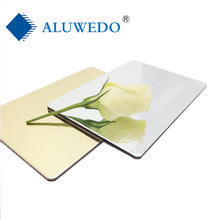 Outdoor Usage and Anodized/PVDF Coated Surface Treatment aluminum composite panel