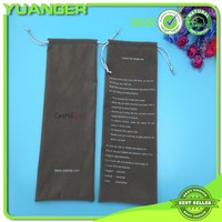 Gray Velvet Printed Hair Packaging Extension Bag Wholesaler
