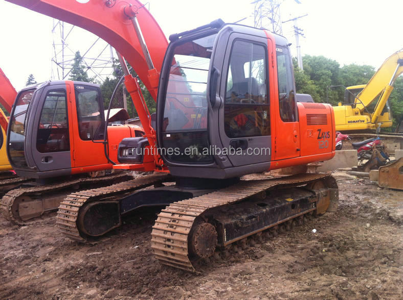 used Hitachi excavator Zx120,second hand original Japanese crawler excavator,construction machine