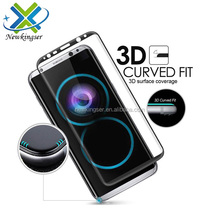 For Samsung S8 screen protector 3D full cover s8 tempered glass