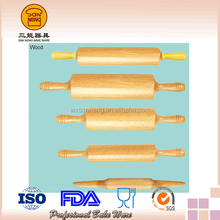 Environmental Wooden Rolling Pin - Removable Handle