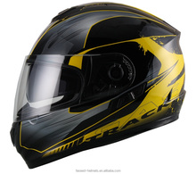 full face helmet with ece 22.05&double visor