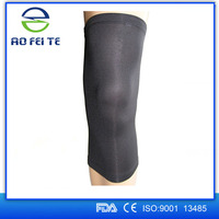 sport basketball protect OEM Compression copper knitting knee sleeve brace