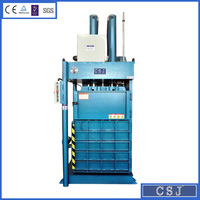 Hydraulic waste paper compactor cardboard bunding machine expanded plastic baler factory price