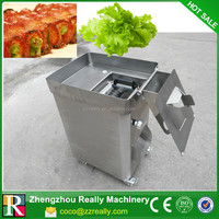 Cooked meat cutter thickness 3mm blade meat cutter production 250 Kg/Hour frozen meat cutter for CE