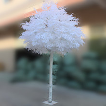 Artificial white ficus tree banyan tree for indoor and outdoor decoration