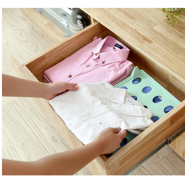 Clothes Folding Board  Clothes Folder with Towel Clips Adult Dress Pants Towels T-Shirt Folder Board  Laundry Folder Organizer