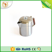 stainless steel percolator coffee pot camping equipment outdoor coffee percolator