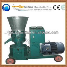 TZKL flat die pellet making machine for animal feeds