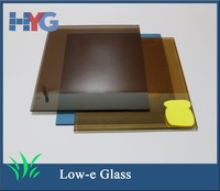 Chinese supplier reflective golden low-e glass price
