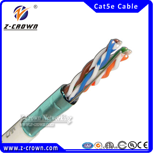 PVC/LSZH Jacket Cat5e Kabel 350Mhz