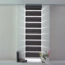 High Quality Electric Fascia Horizontal Window Zebra Roller Blinds