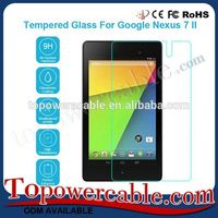 2016 Best Tempered Glass Screen Protector Touch Screen Guard For Google Nexus 7 II