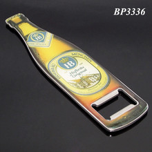Custom Fridge Magnet Metal Beer Bottle Shape Opener