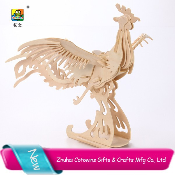 Hobbycraft custom promotion gift 2015 new innovative product giveaways for weddings mythical phoenix bird