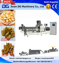 Automatic extruded savory croutons/bread rusks production line