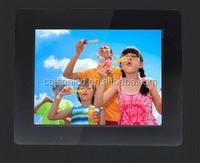 Manufacturers supply 8 inch digital photo frame 800x480 support video / music / picture / clock / calendar