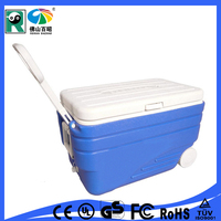 Roto mold used transport wholesale large plastic cooler box