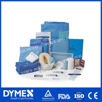 Medical Instruments Disposable Surgical Packs of Nonabsorbable Nylon/Polyester Suture