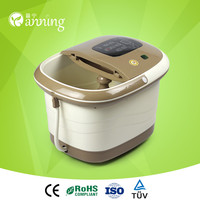 Best healthcare portable foot bath tub,scrub and wash foot massager,newest foot sauna barrel