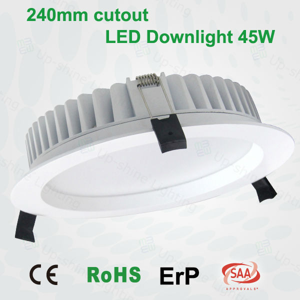 CE RoHS ERP SAA led recessed 0-10V DALI dim triac dimmable SMD led ceiling light high lumen dimmable downlight led
