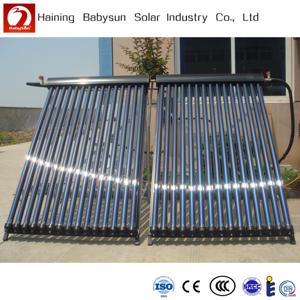 heat pipe swimming pool solar water heater for projects