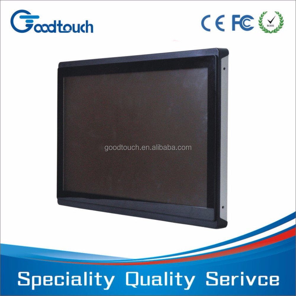 certificated open frame capacitive 19 inch lcd touch screen monitor, touch kiosk monitor