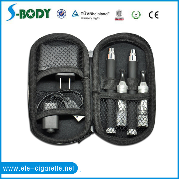 e-cigarette plastic zipper case ego zipper case for ego serious kit