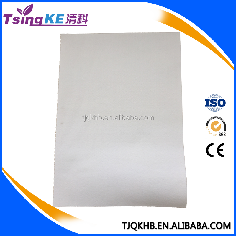 High Quality Long Useful Life Water & Oil repellent Polyester(PE) needle felt filter fabric