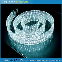 2016 Newest Flat 4 Wires DIY LED Rope Light Factory Price Walmart Market Decoration