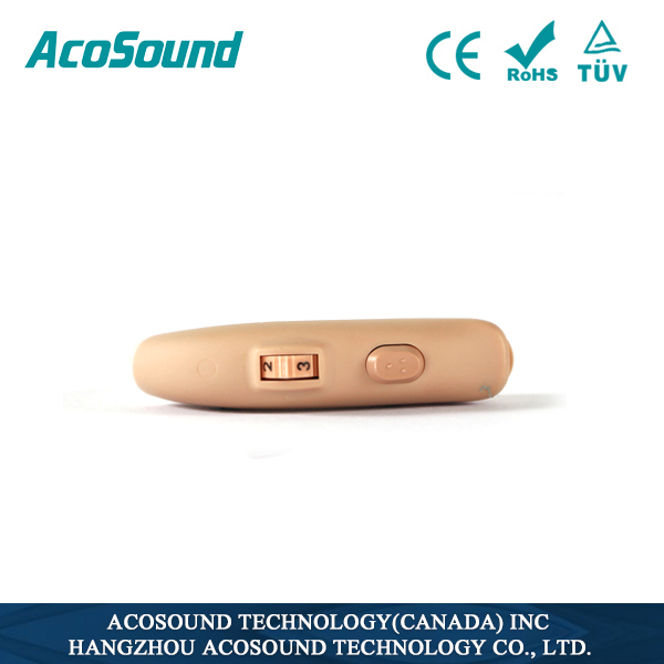 AcoSound AcoMate 420 BTE affordable hearing aid ear tips