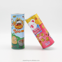 Customized New Style Round Food Paper Can