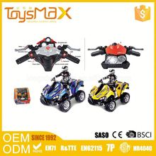 Small Plastic Toys Manufacture 4Channel Electric Cheap 2.4G Rc Motorcycle