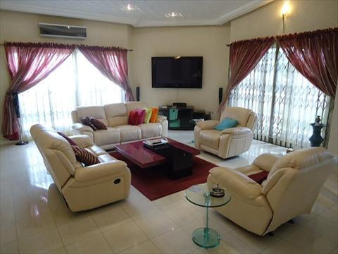 Fully furnished with Italian Leather Furnitures and Plasma TV's