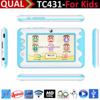 4.3inch mini ODM kids tablet computer touch screen wifi RK 2926 Cortex A9 1.3GHz 480*272 Pixels HD Screen B