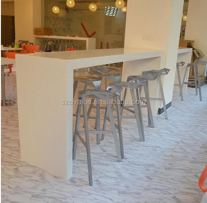 Solid Surface Bar Tabler /commercial cafe bar counters,coffee shop tables and chair ,Restaurant dining table