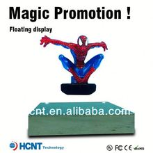 New invention 2013 !! Magnetic Floating pop display ,computer case with lcd temperature display