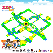 ZZPL Exciting inflatable water sports Funny inflatable floating water games Happy time inflatable water obstacle course