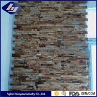 Pure Natural High Qulity Sandstone Flagstone Mat Mesh Stone Tile