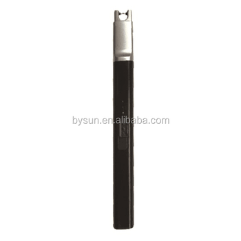 BS-1502 Charged Customised USB Lighter Smoking Lighter/BBQ lighters /USB Candle Lighter