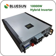 DC To AC Power Inverter With Battery Charger 10KW MPPT Solar Hybrid Inverter