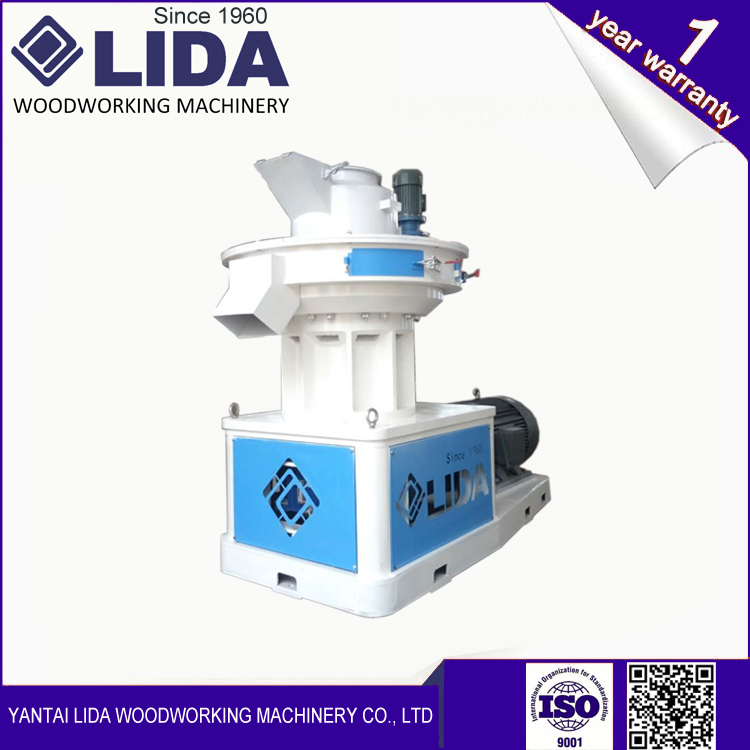 LIDA LD650 Wood vertical ring die pellet mill machine from China