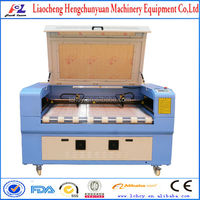 CE/FDA/ISO auto feeding laser cutting machinery for textile/table cloth/garments/fabric