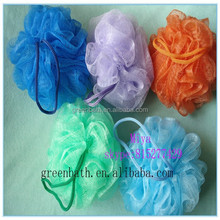 Shower puff bath sponge natural net bath sponge hot selling