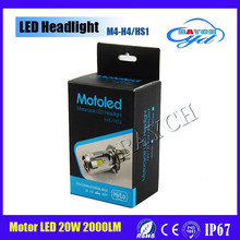 High Quality Motorcycle Headlight LED Turn Signal with H4 Bulb for Harley Motorbike Headlight Replacement for Harlley