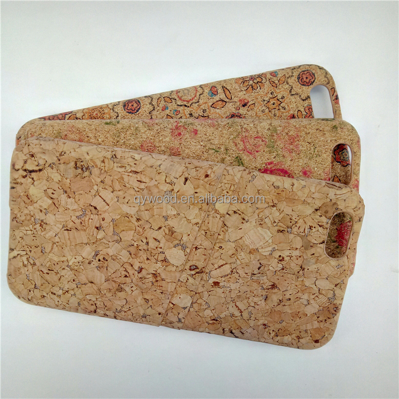 Practical soft printable cork wood phone case,mobile phone accessories