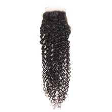 50% Off Discounts Wholesale Swiss Lace Pre Plucked Cuticle Aligned 4*4 Mongolian Kinky Curly Lace Closure