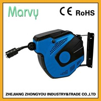 10m wall mount automatic retracable spring driven hose reel for air china suppliers