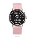 Power efficient E-ink display smart watch with traditional quartz movement can do heart rate monitor and pedometer